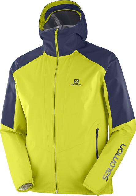 Salomon Outline Jacket Men citronell